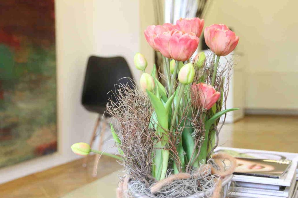 Tulpen im Wartezimmer
