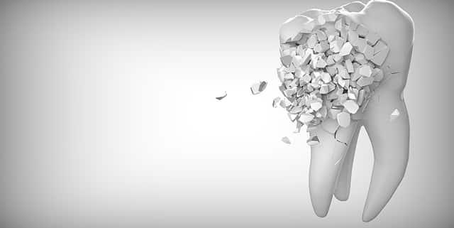 Zahn gegerendert