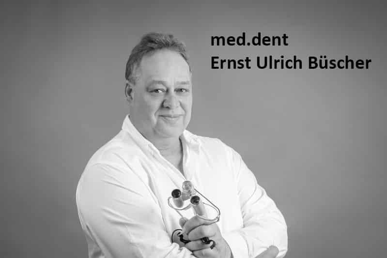 Porträt des Zahnarzt Ernst Ulrisch Büscher